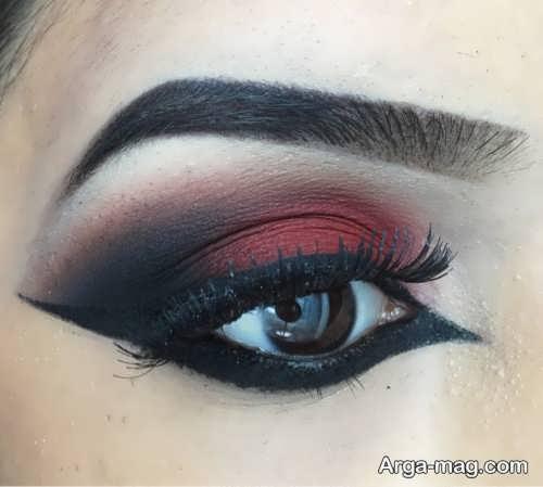 آرایش چشم هندی زنانه