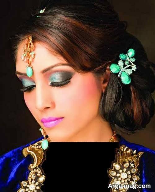 آرایش هندی چشم زنانه