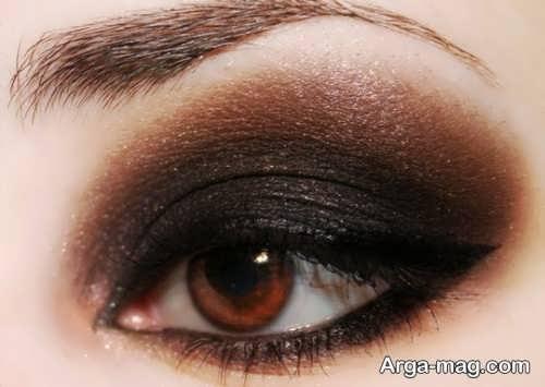 مدل آرایش غلیظ چشم