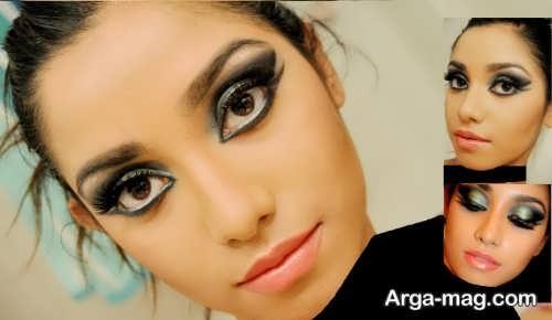 مدل آرایش هندی چشم جدید و جذاب