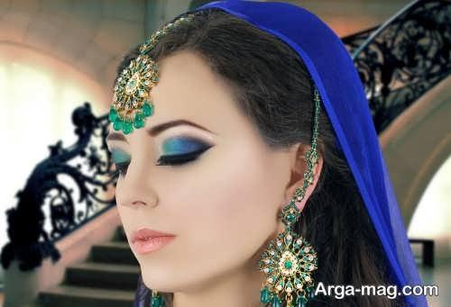 مدل آرایش غلیظ چشم زنانه
