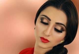 مدل آرایش چشم هندی زنانه و دخترانه