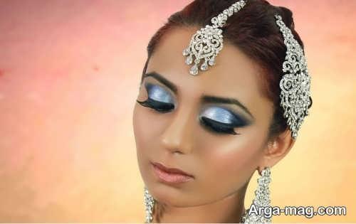 مدل زیبا و شیک میکاپ هندی