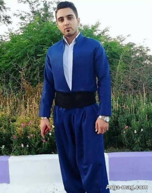 مدل لباس کردی مردانه