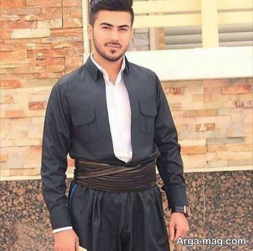 انواع می کردی مدل لباس کردی مردانه شیک و جدید با طرح های جذاب