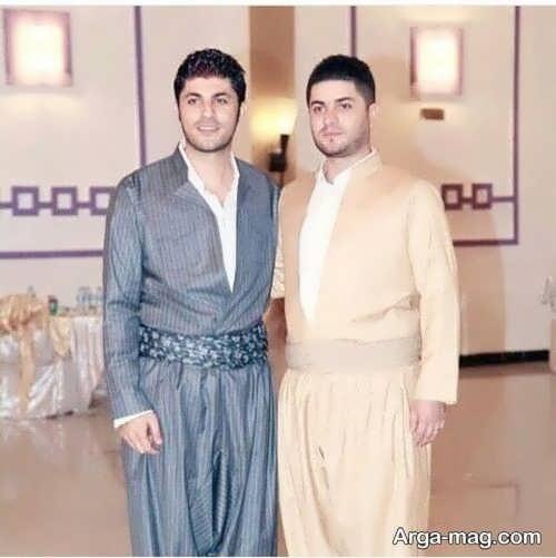 مدل زیبای لباس کردی آقایان