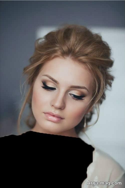 مدل آرایش صورت ملایم و زیبا