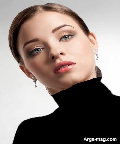 مدل زیبا و جذاب آرایش صورت