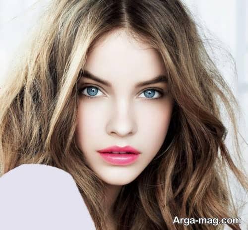 آرایش صورت دخترانه جدید و زیبا