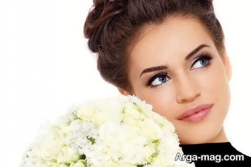 مدل آرایش صورت ملایم شیک