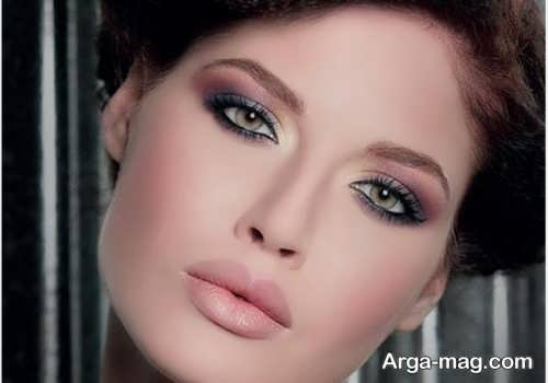 آرایش صورت زیبا و شیک زنانه