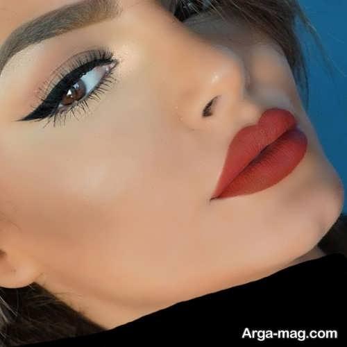 مدل آرایش صورت ملایم و جدید