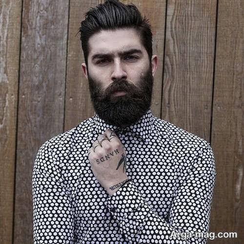 مدل ریش بلند و جذاب