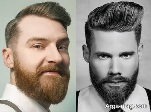 ریش مردانه بلند