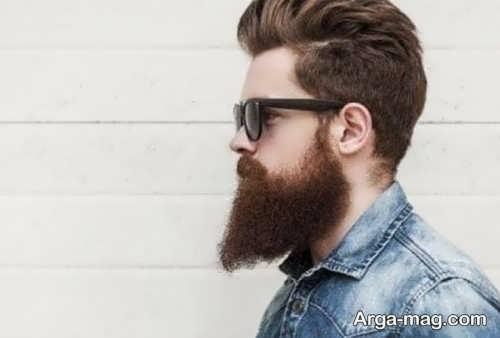 مدل ریش بلند اقایان