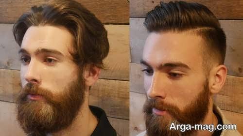 مدل ریش مردانه بلند و جذاب
