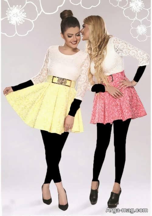 مدل لباس زیبا و شیک عروسکی