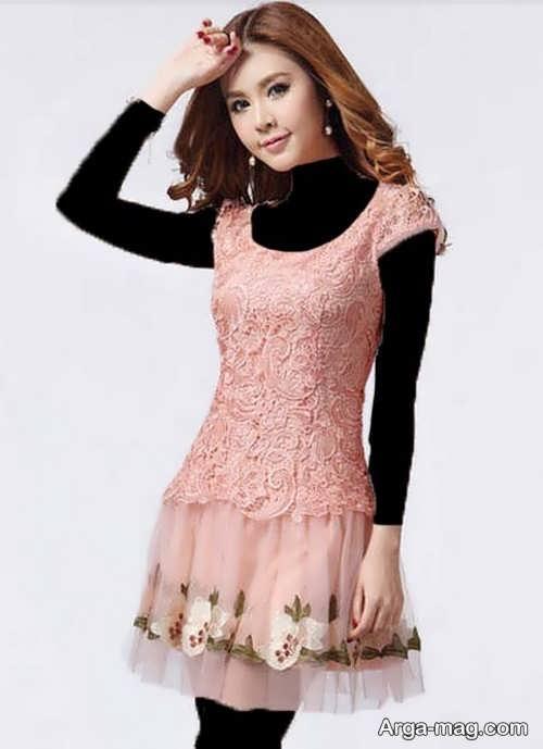 مدل لباس کره ای عروسکی