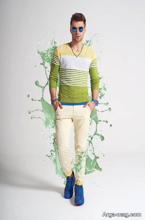 لباس جدید اسپرت مردانه
