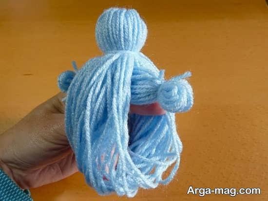 نحوه ساخت عروسک با کمک کاموا