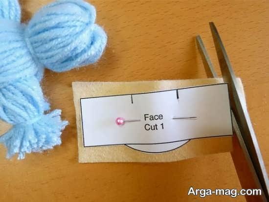 نحوه ساخت سر عروسک