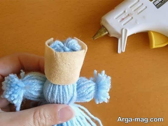آموزش ساخت عروسک با کمک کاموا