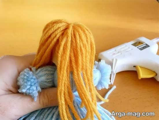 نحوه ساخت موی عروسک