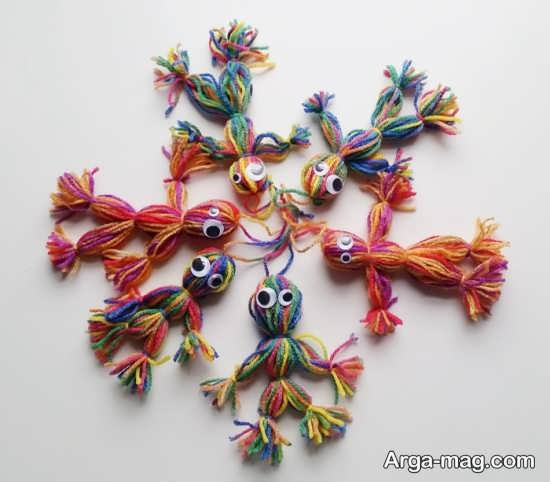 انواع مدل های عروسک کاموایی