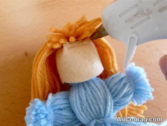 نحوه ساخت عروسک با کاموا