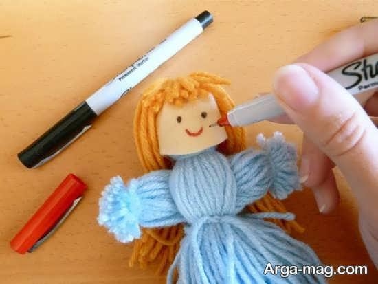 آموزش ساخت عروسک با کاموا