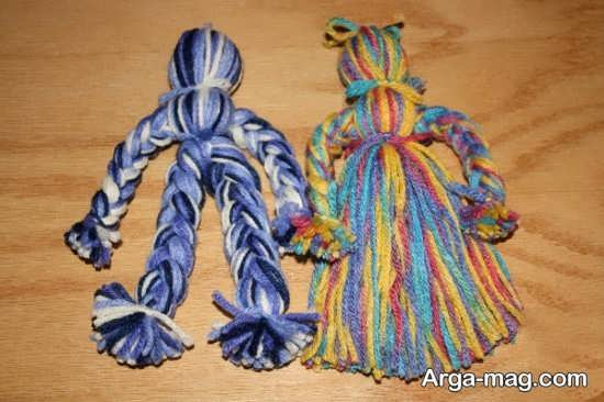 چادر طرح کاموا آموزش ساخت عروسک با کاموا و   ایده های جدید بـه منظور عروسک های ... mimplus.ir