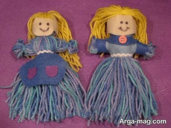 مدل عروسک کاموایی شیک