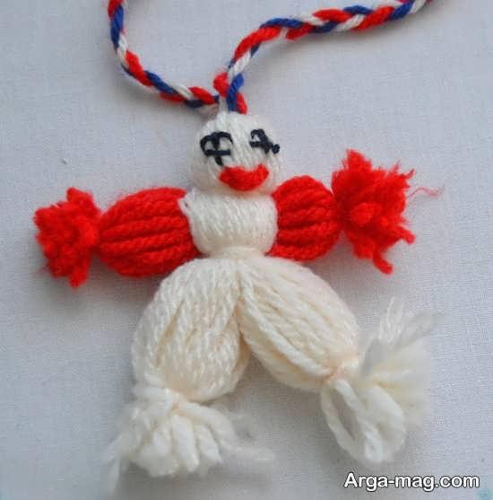 ساخت عروسک با کاموا