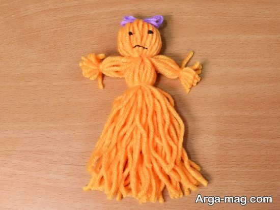 مدل شیک و جدید عروسک کاموایی
