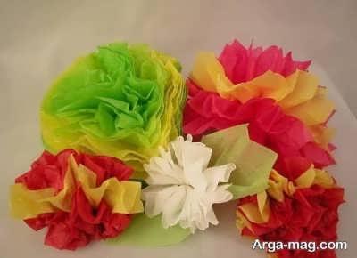 ترفندهای بسیار زیبا در ساختن گل