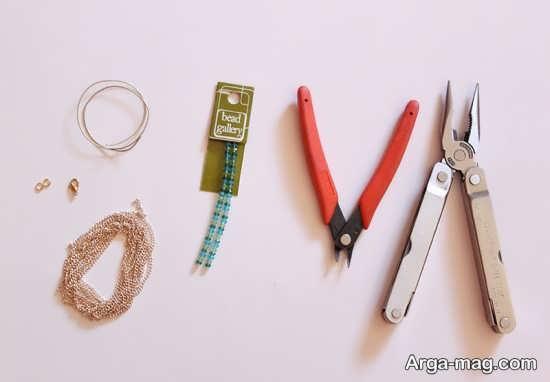 مراحلل ساختن دستبند مرواریدی
