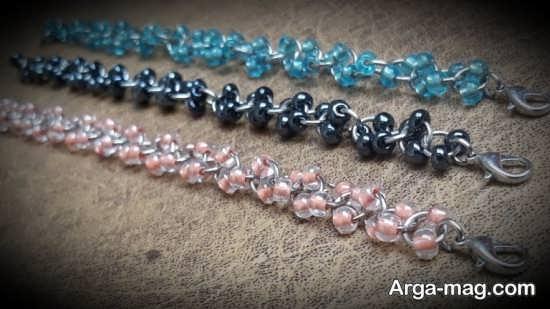 ساختن دستبندهای شیک با مهره