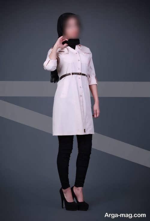 مدل مانتوی زیبا و شیک برای خانم ها با قد کوتاه