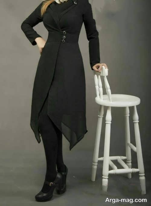 مدل مانتو شیک و زیبا حریر