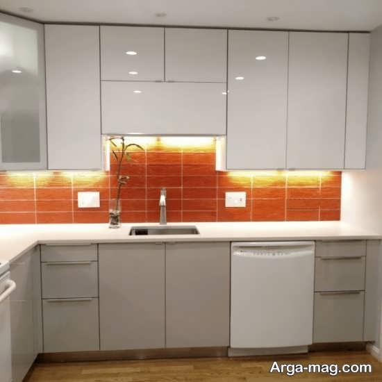 زیباترین مدل کابینت آشپزخانه کوچک