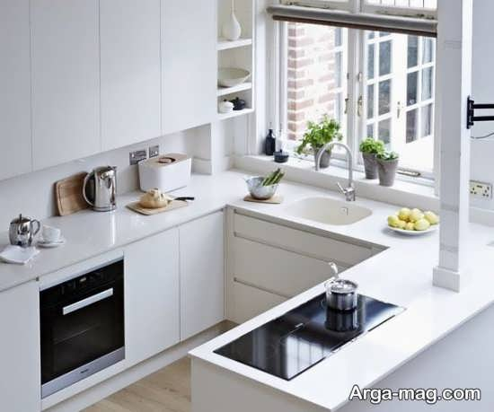 شیک ترین مدل کابینت آشپزخانه کوچک