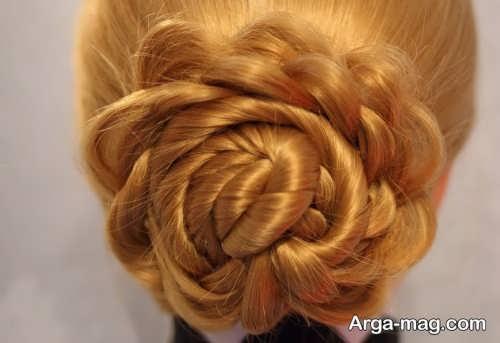 بافت موی شیک و زیبا زنانه