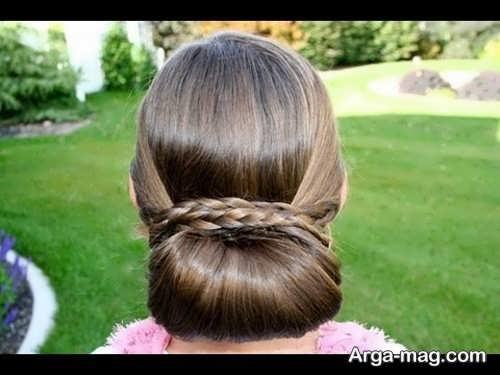مدل بافت موی ساده و مجلسی زنانه
