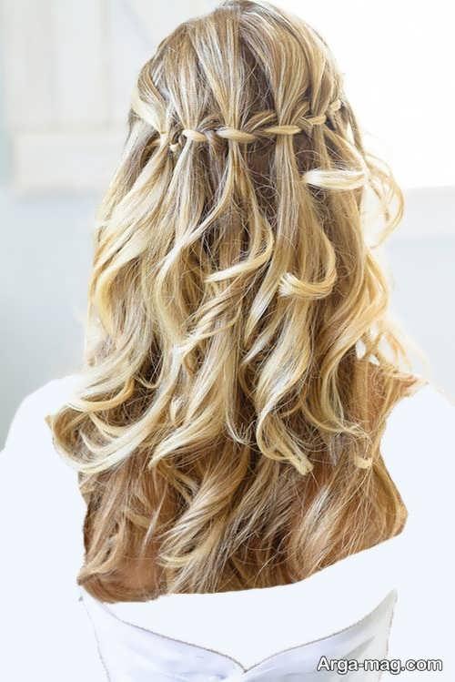 مدل بافت مو برای موهای بلند