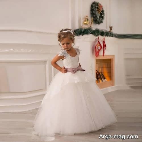 مدل لباس عروس دخترانه کوتاه و جدید