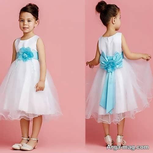 مدل لباس عروس کوتاه دخترانه