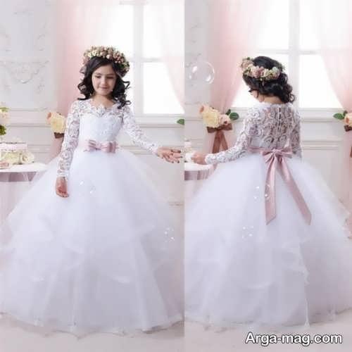 مدل شیک و جدید لباس عروس دخترانه