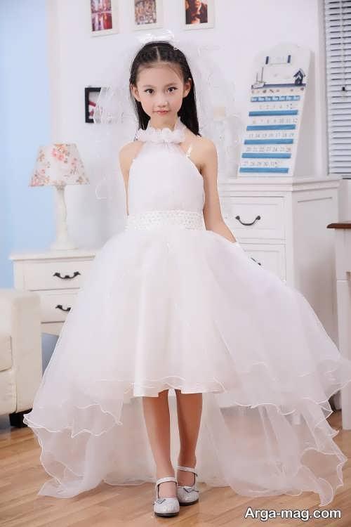 مدل لباس عروس با کلاس بچه گانه