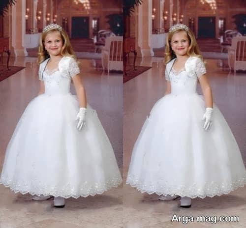 مدل لباس عروس شیک و جدید بچه گانه