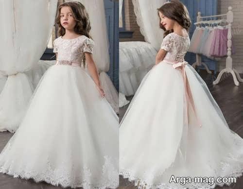 مدل لباس عروس شیک دخترانه